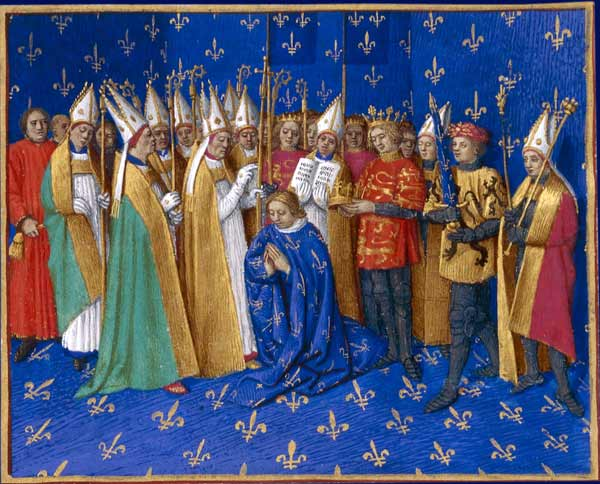 Philippe II's coronation