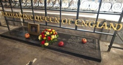 Catherine of Aragon's burial