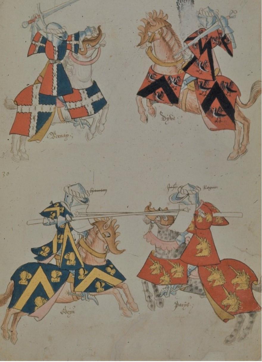 Henry VIII's jousting