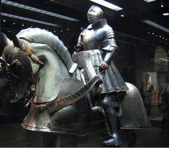 Henry VIII's jousting armour