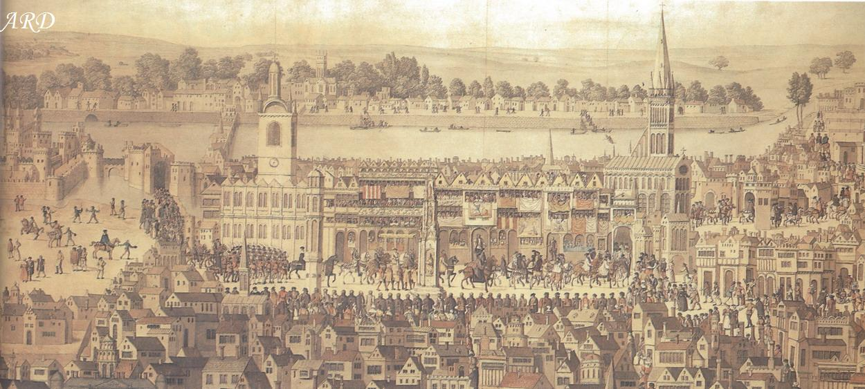 Edward VI's coronation procession