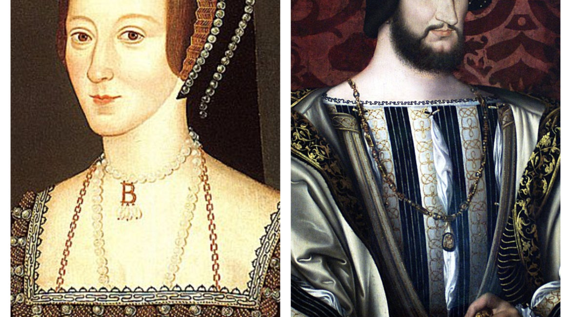 Anne Boleyn and King François I of France