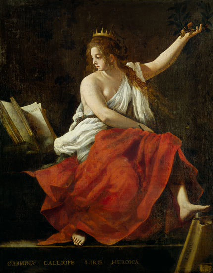 Calliope, Greek muse of poetry