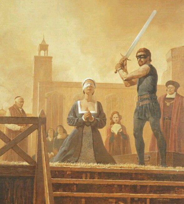 Anne Boleyn's beheading