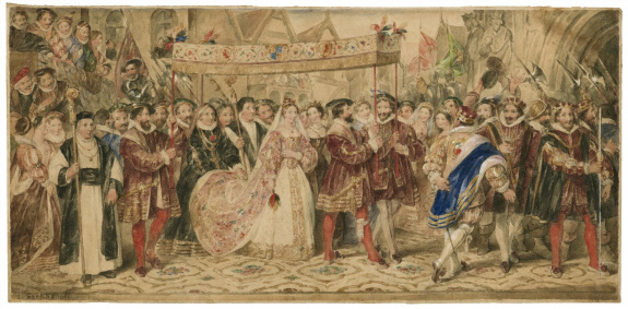 Anne Boleyn's coronation procession