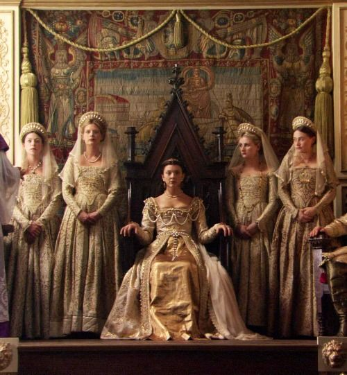 Anne Boleyn's coronation the Tudors