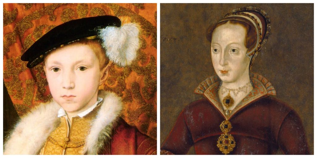 Edward VI and Lady Jane Grey
