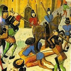 The brutal murder of Louis I d'Orléans in the streets of Paris