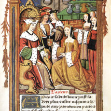 Coronation of Mary Tudor, sister of King Henry VIII, in France