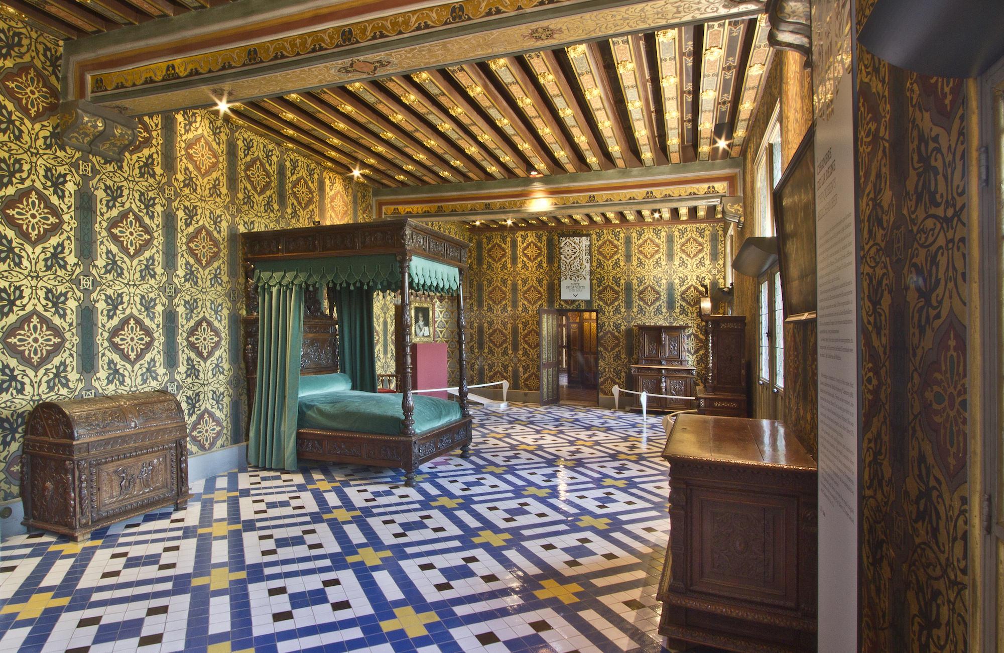 The François I wing, Château de Blois rooms inside