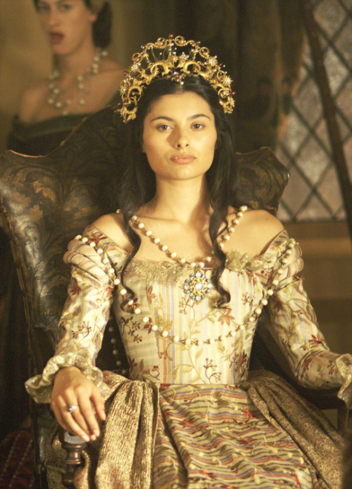 """Gabriella Wright as Claude of France in the ShowTime """"The Tudors"""""""
