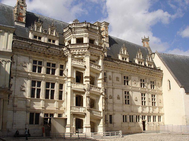 The François I wing, Château de Blois