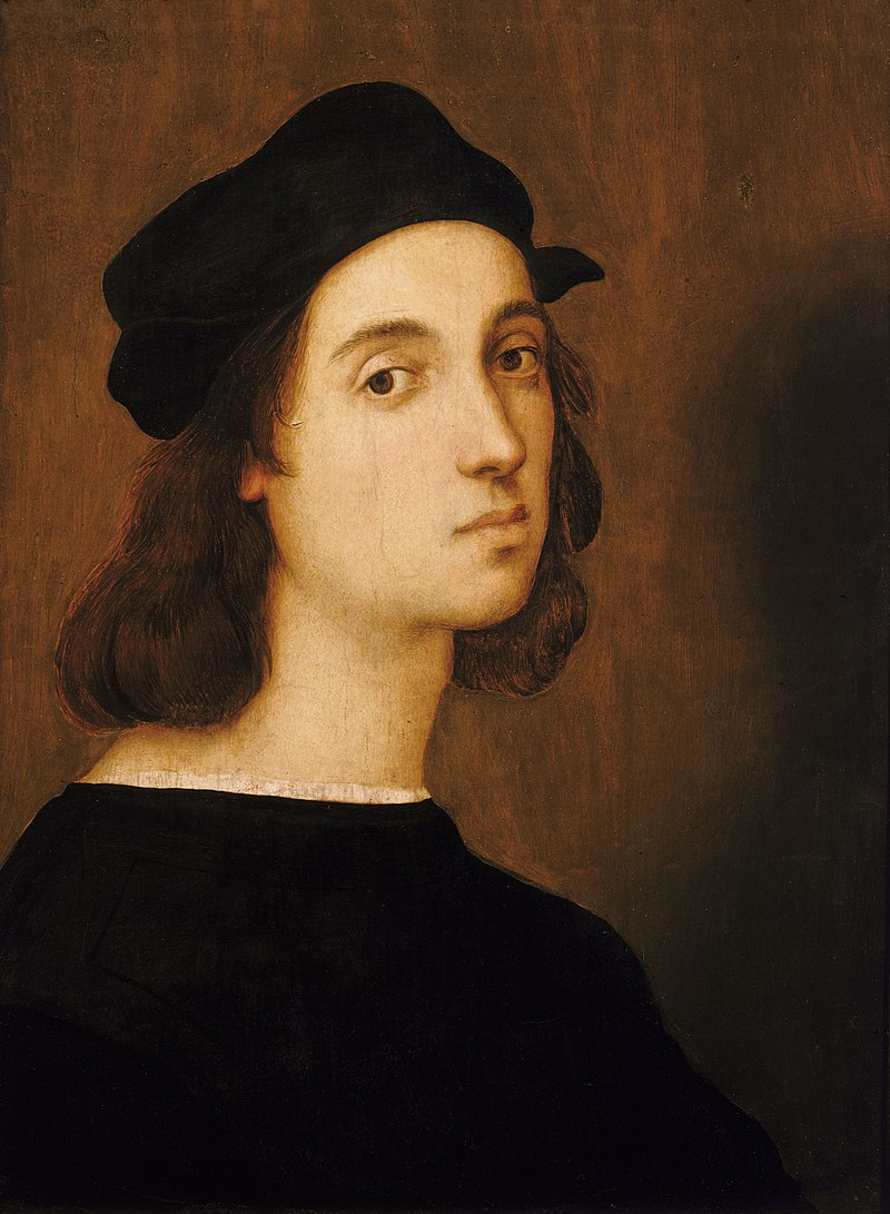 Self-portrait of Raphael, aged approximately 23
