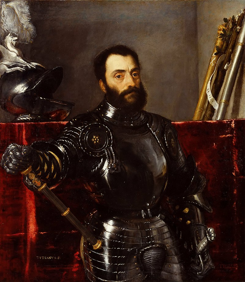 Portrait of Francesco Maria della Rovere, Duke of Urbino by Titian