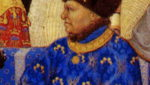 Image of Jean de Valois, Duke de Berry from the Très Riches Heures (The Very Rich Hours)