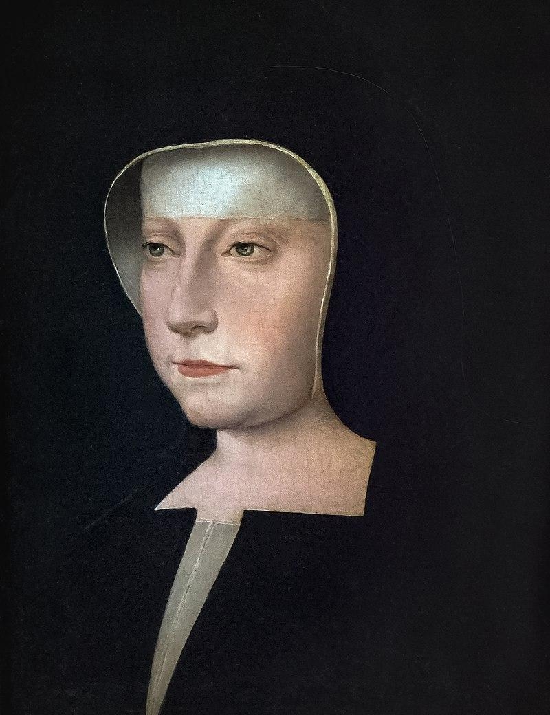 Portrait of Madame Louise de Savoy by Jean Clouet