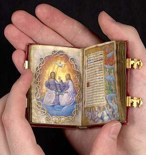 Queen Claude's tiny Book of Hours