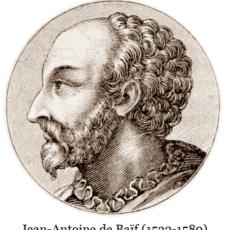 The Pléiade: the late Renaissance poet Jean-Antoine de Baïf