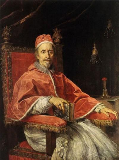 Portrait-of-Pope-Clement-IX--1669