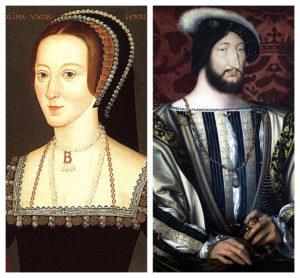 Anne Boleyn and King François I of France
