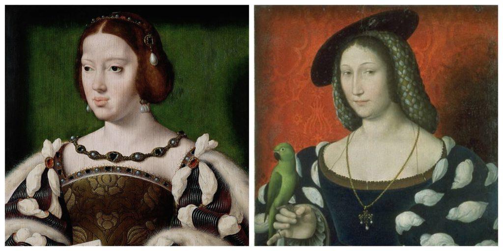 Eleanor of Austria and Marguerite de Nanarre